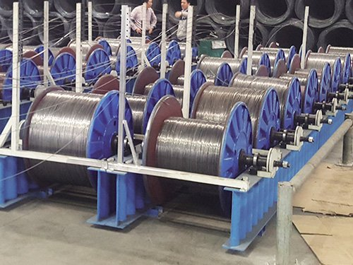 2 LIne Wire Payoff With max.Loading Capacity 1T
