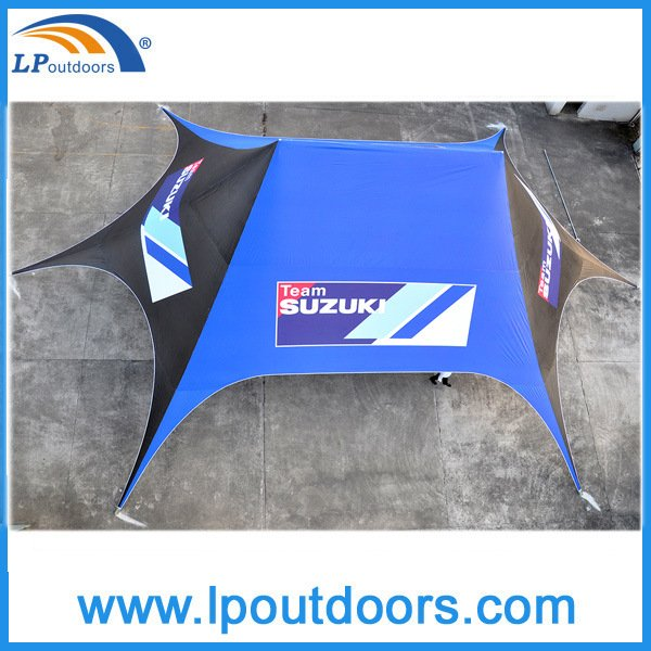 16X21m Outdoor Canopy Shelter Tent with High Peak for Sandbeach