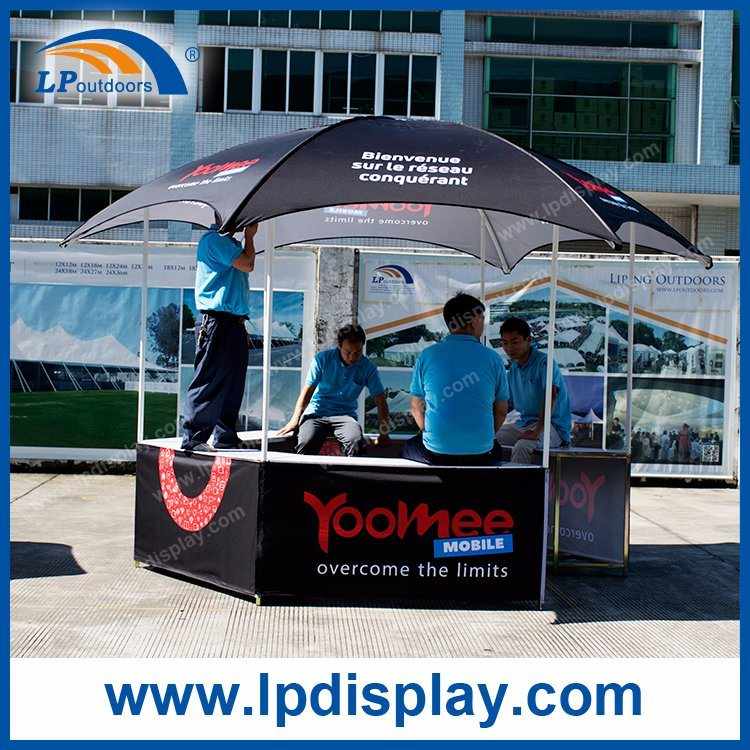 Removable Hexagon Dome Trade Show Tent for Promotions