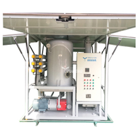 6000L/H Yuneng ZJA6KY Double Stage Used Transformer Oil Filter Machine