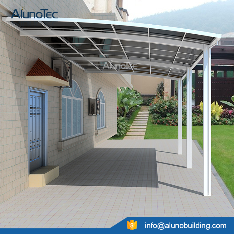 Aluminum Carport Polycarbonate Roofing Buy Outdoor