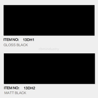 Black color Linear range Subway tile 100*300mm