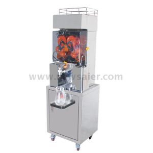 Tap Sensor Commercial Stainless Steel Orange Juice Machine