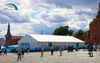 20m Clear Space Solid wall Party Tent with ABS Wall