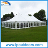 Outdoor 18m Steel High Peak Frame Wedding Marquee Party Pole Tent
