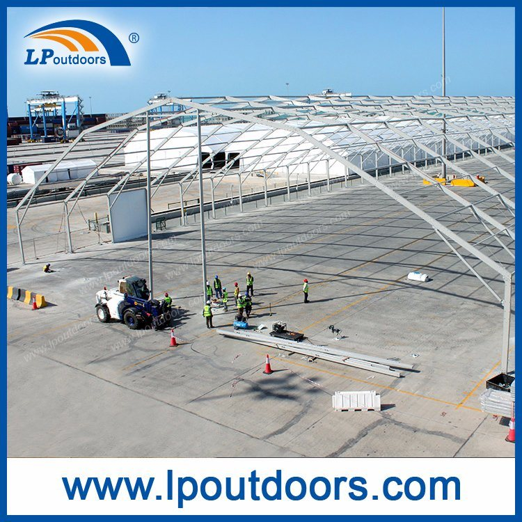 50m Width Large Aluminum Temporary Warehouse Tent