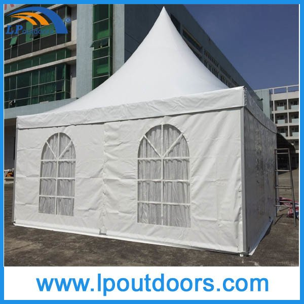 20X20′ Outdoor High Peak White PVC Party Marquee Pagoda Gazebo Tent for Event