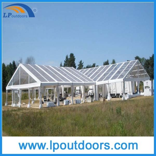 Outdoor Aluminum Wedding Marquee Luxury Clear Party Tent