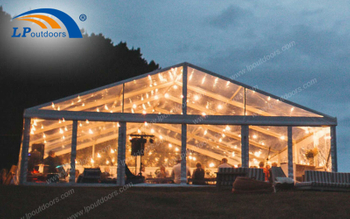 Recommending Temporary Large Transparent Tent As Wedding Tent