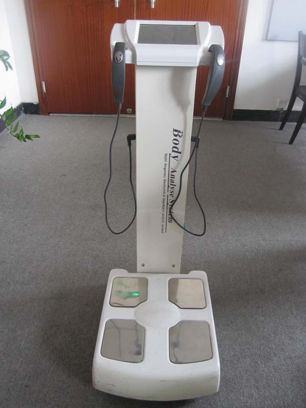 Multifrequency body fat analyzer with printer freely GS6.5