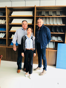 Clients visit from Australia for Roll Forming Machine on April 23,2018