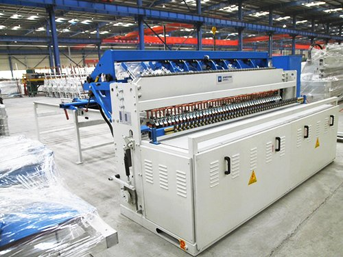 Fence Mesh Welding Machine6