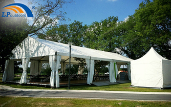 Where Can Small Alumium Party Tent For Outdoor Restaurant Be Set Up