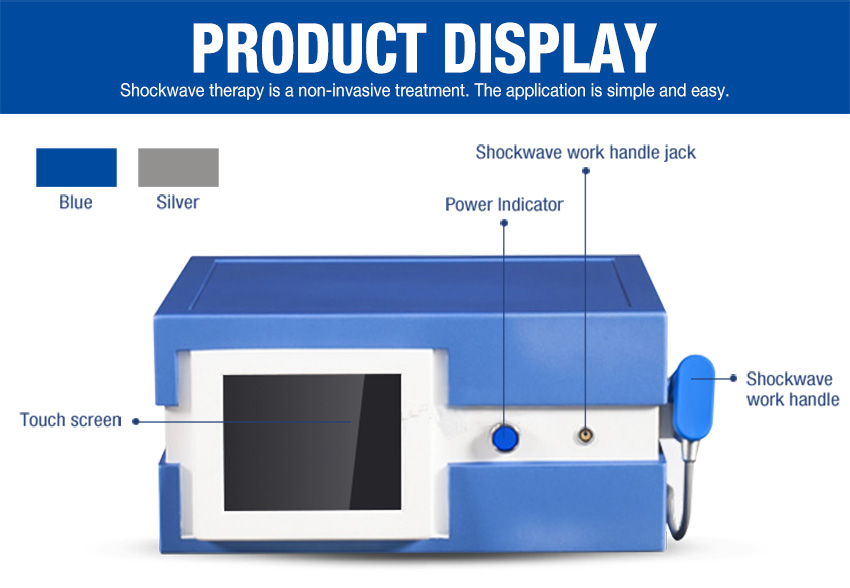 extracorporeal shock wave therapy display