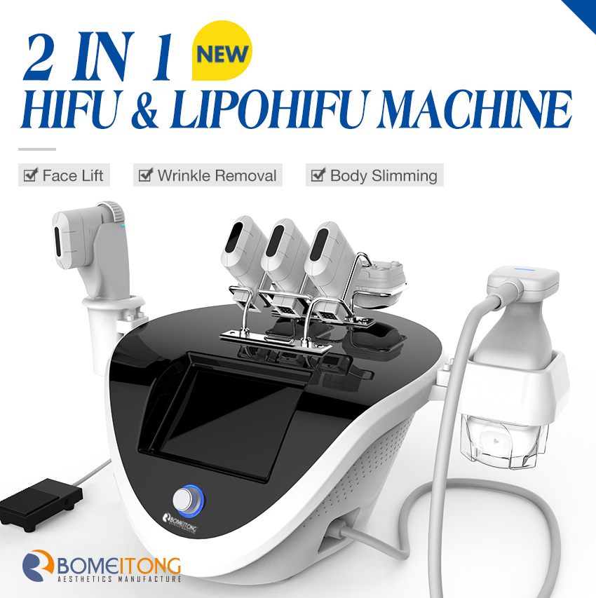 2 in 1 hifu machine