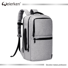 Weierken Wholesale High Quality Business Vertical Bag Laptop Bagpack for Men and Women