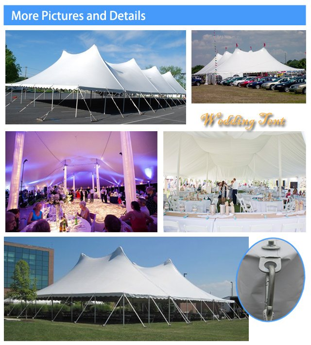 60X120 Cheap Steel Pole Tent for Wedding