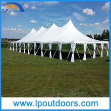Cheap Steel Frame Peg Pole Tent for Wedding Party