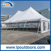 200 People Capacity Peg and Pole Tents with Ceiling Lining