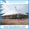 18m 60' Outdoor Cheap Steel Peg And Pole Tent