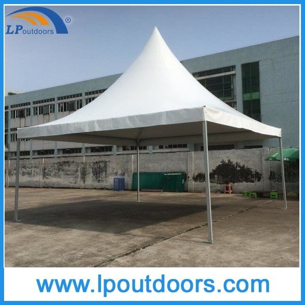 Lp Outdoors Luxury Aluminum Frame White PVC Pagoda Tent