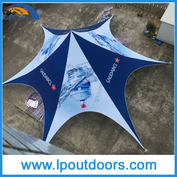 Outdoor Customs Printing Spider Shape Star Tent