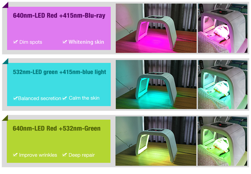 led light therapy machine led function