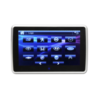 10.1 Inch Clip-on Headrest DVD Player with IR/FM/USB/SD/MP5