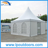 5mX5m Outdoor Pagoda Tent with Glass Window Door and Lining
