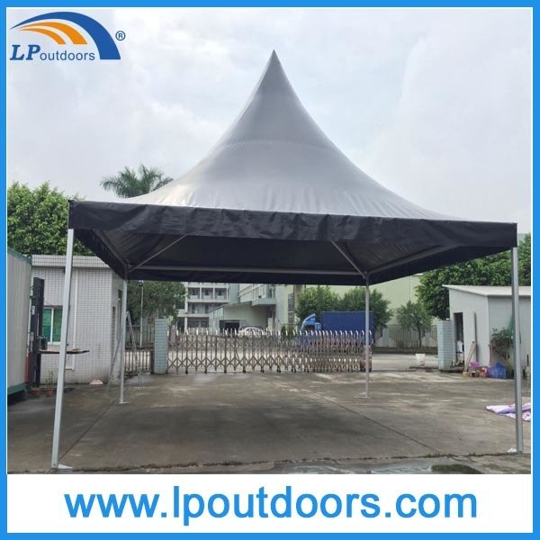 6X6m Best Quality Black PVC Wedding Pagoda Tent for Event