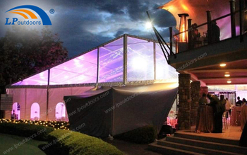 Aluminum Temporary Clear Luxury Transparent Party Dinner Tent Makes Outdoor Banquet More Fun