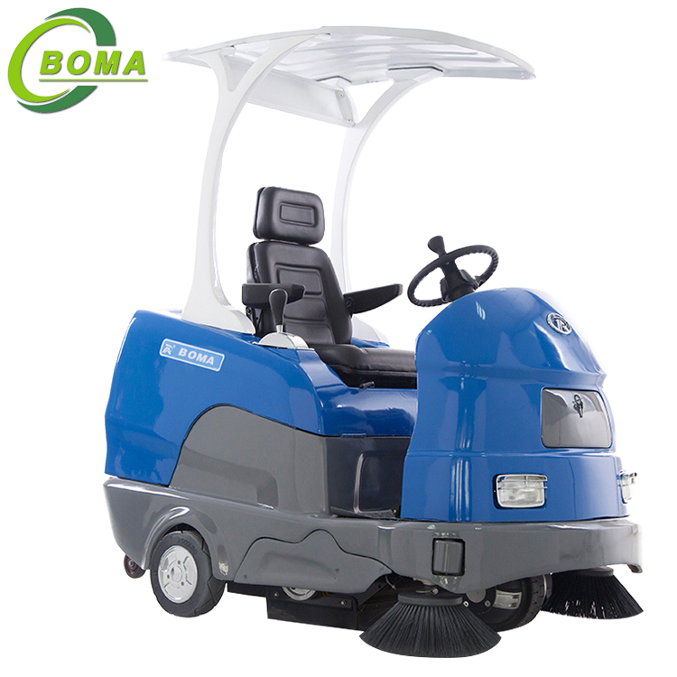the use of electric road sweeper Gemei electric sweeper s9, cleaning width 19 meters it has usa imported curtis controller and usa kds motor usa kds motor can support gemei the use of american brand curtis big power controller, with brake current recharge function, prolong the mileage, and electronic brake function.