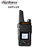 2G/3G/4G two way radio With Sim Card GPS Function WCDMA GSM Network POC walkie talkie