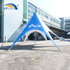 Dia 12m Star Advertising Display Tent For Promotion