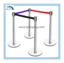 Colorful Nlyon Belt Retractable Stanchion Queue Stand Barrier