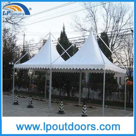 6X6m Outdoor Summer High Peak Gazebo Tent