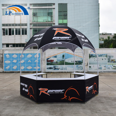 Customized Printing Advertising Hexagonal Display Tent For Low Price Wholesale