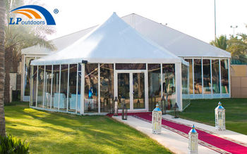 Luxury Ramadan Party Tent For Celebration Event Won Good Feedback