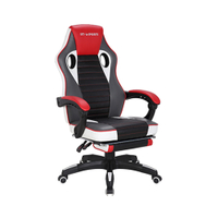 KB-8108 Ergonomic Racing Style PU Leather & Mesh Gaming Chair