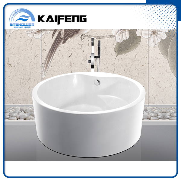 high quality freestanding round bathtub with CUPC