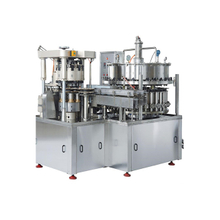 Rotary Type 2 in 1 Can Filling and Sealing Machine