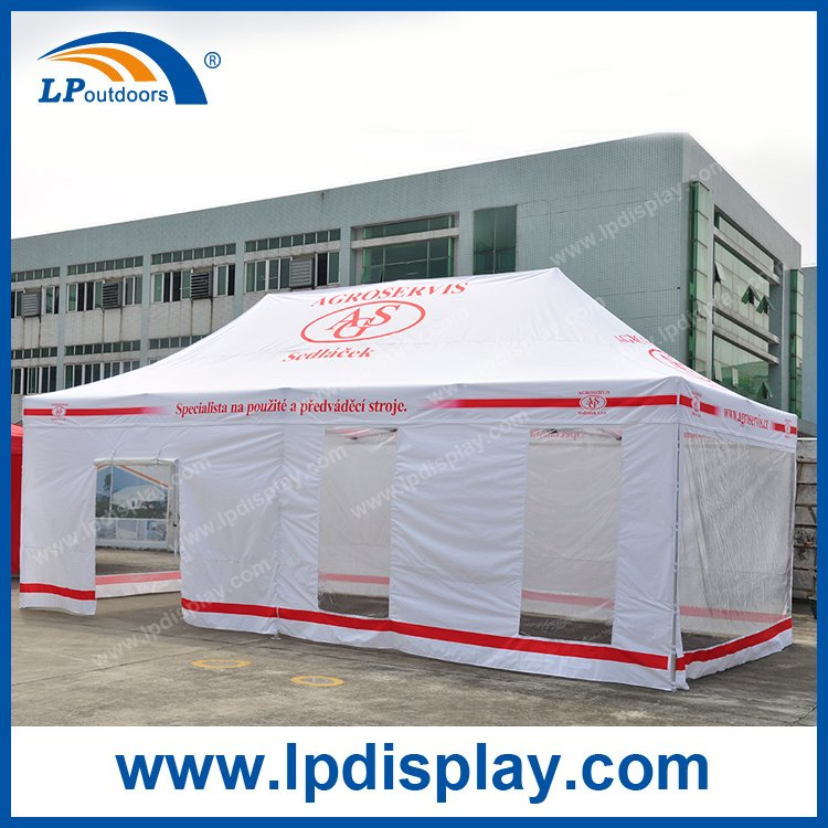4X8m Custom printing Gazebo tent for Outdoor advertising event