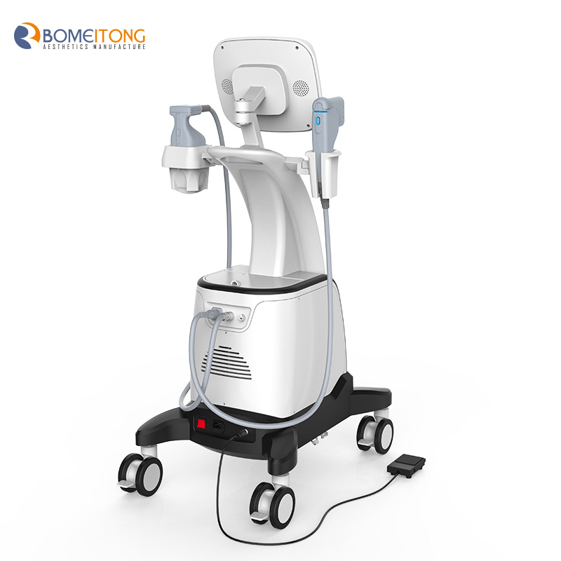 Lipo hifu liposuction and skin lifting machine fu18