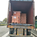 Today the company's business elite shipped six containers