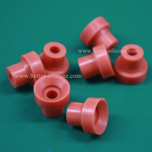 Custom Elastomer Metal Plastic Silicone Rubber Bushing Washer from ...