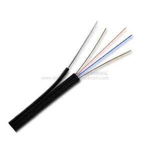 FTTH fiber optic drop cable GJYXFCH-2 G657A1 Self-Supporting GFRP