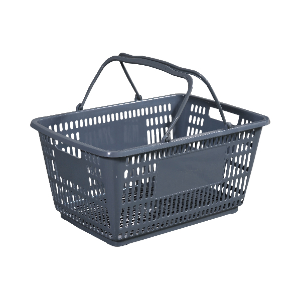 38L Double Handle Shopping Basket B-41