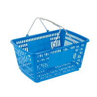 32L Double Handle Shopping Basket B-16C