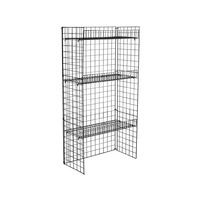 3 Shelving Wire Floor Stand