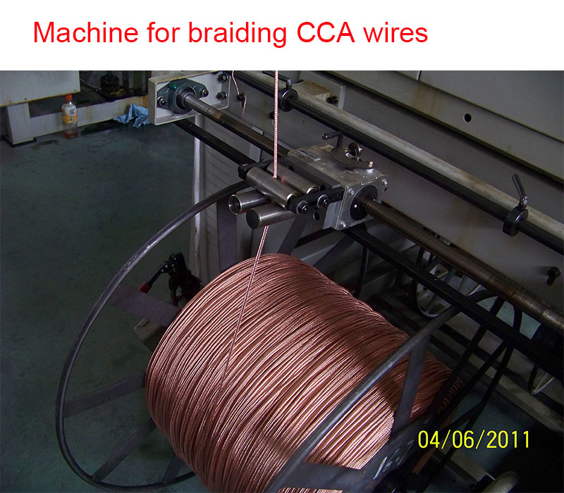 coaxial cable produce machine 2